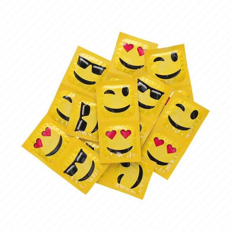 Préservatifs Préservatifs Perlés - Emoji